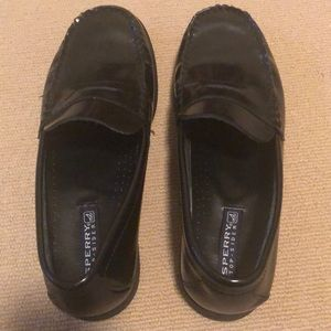 Sperry Shoes - Men's Sperry black penny loafers , size 6.5